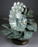 'Gray Wolf' - abstract ceramic sculpture
